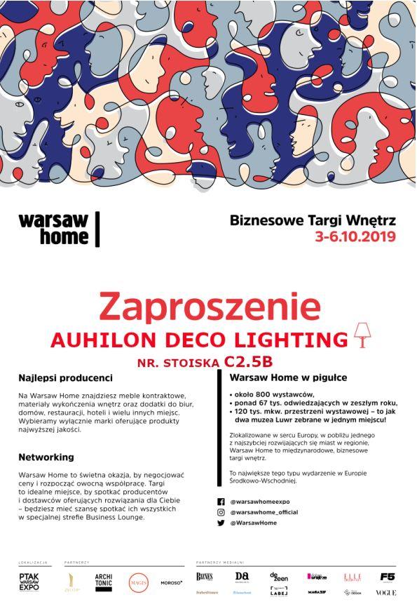 Zaproszenie Warsaw Home